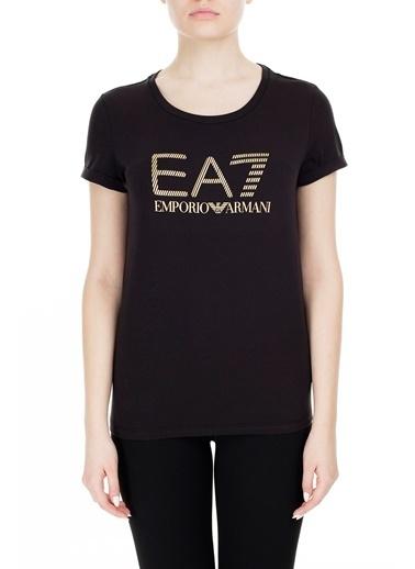 EA7 Emporio Armani  T Shirt Kadın T Shırt S 6Gtt15 Tj12Z 1200 Siyah